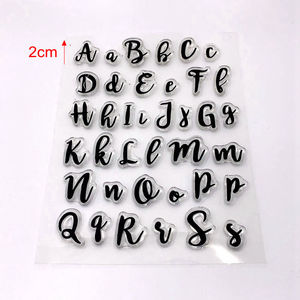 Image 2 - Cake Tool new letter upcase number alphabet cookie cutter embosser stamp sticky decorating fondant cutter tools sugarcraft