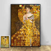 Gustav Klimt Art Poster Modern Home Decoration Canvas Painting Hd Print Retro Wall Art Picture For Living Room No Frame