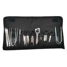 مجموعة أدوات إزالة راديو السيارة ، مجموعة مفاتيح ، نظام ملاحة CD ، لسيارات BMW Audi V W ، Opel ، ملحقات إصلاح السيارات ، 20 قطعة