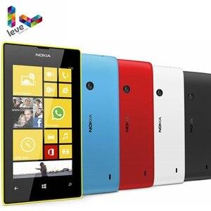 Оригинальный мобильный телефон Nokia Lumia 520, двухъядерный, 3G, Wi-Fi, GPS, 4,0 дюйма, 5 МП, 8 ГБ, Nokia 520, Восстановленный, разблокированный сотовый телефон ...