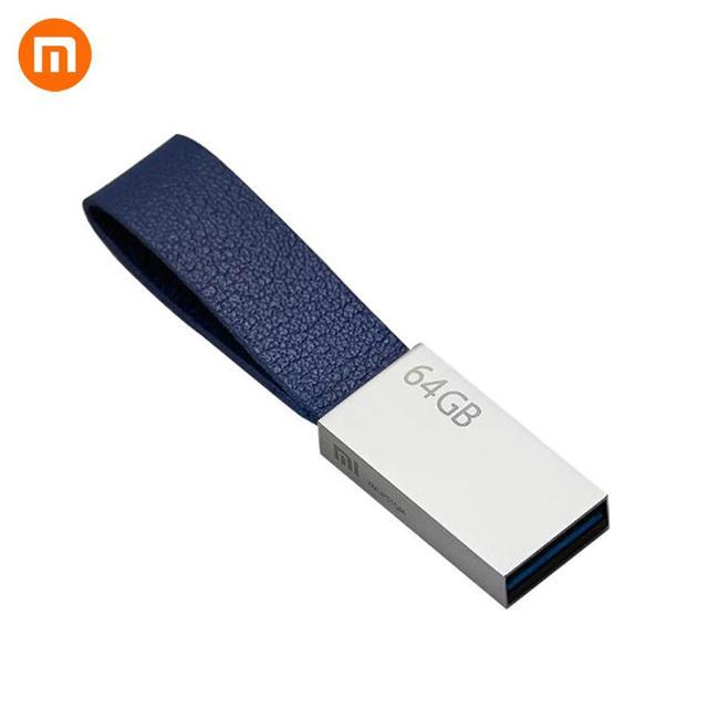 정품 xiao mi mi u 디스크 64 gb usb 3.0 고속 trans mi ssion 소형 끈 디자인 youpin에서 휴대용 mi ni 금속 몸