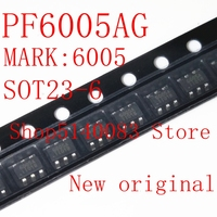 5PCS 50PCS PF6005AG SOT23 6 PF6005A SOT23 PF6005 6005AG 6005 Code 6005A Power management chip New and original|Voice Recognition/Control Modules|   -