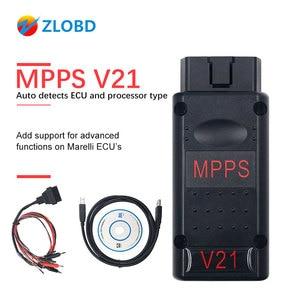 Image 1 - MPPS V21 ECU Chip Tuning  Interface  MPPS V16/V18/V21 For EDC15 EDC16 EDC17 CHECKSUM MPPS OBD2 Car Diagnostic Cable