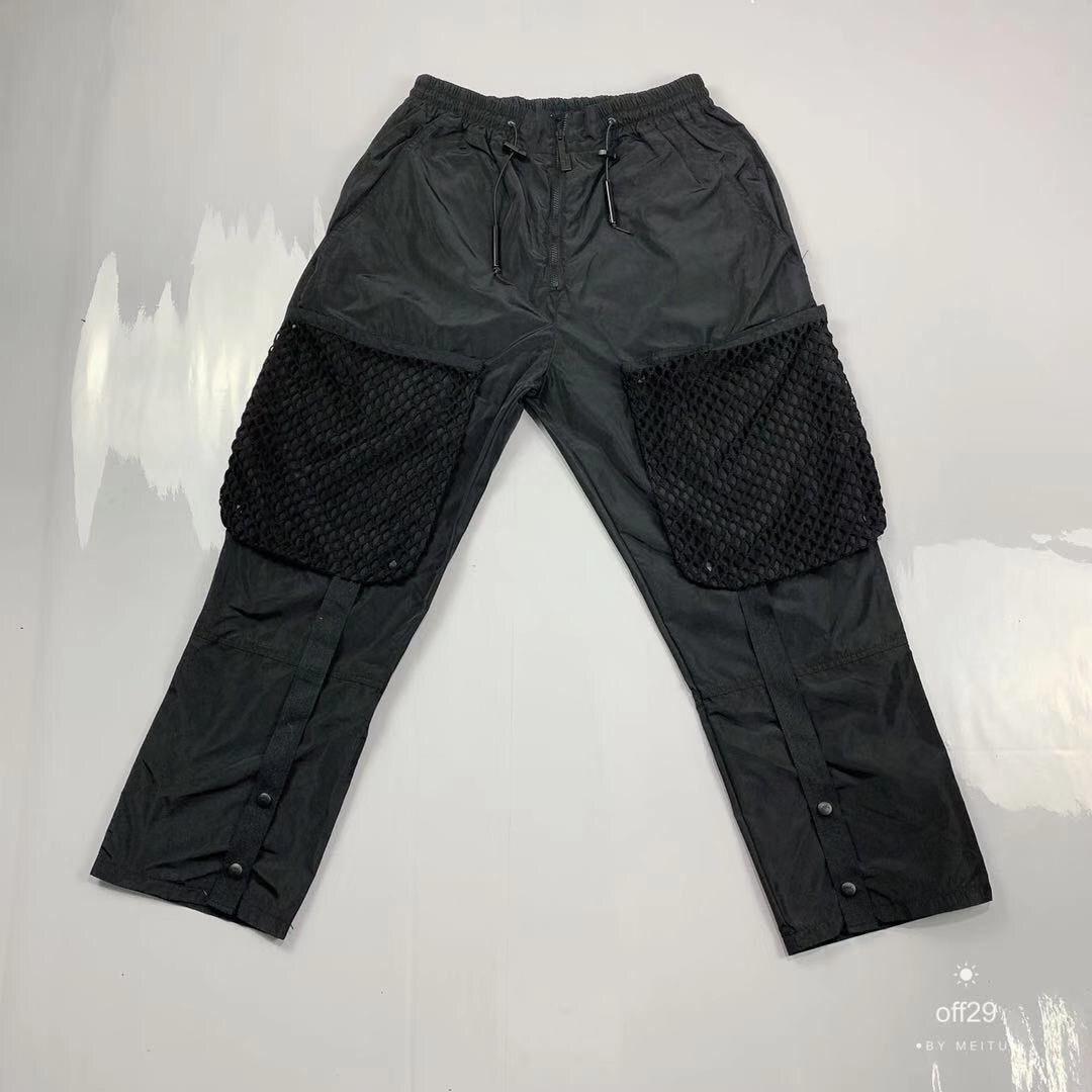 A-cold-Wall ACW hommes maille poche pantalons de survêtement pantalons de survêtement Hiphop Streetwear ACW chaussures décontractées pour homme pantalon