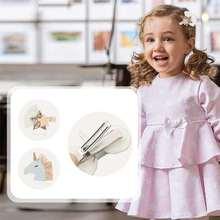 Детская заколка для волос с украшением в виде единорога блестящий