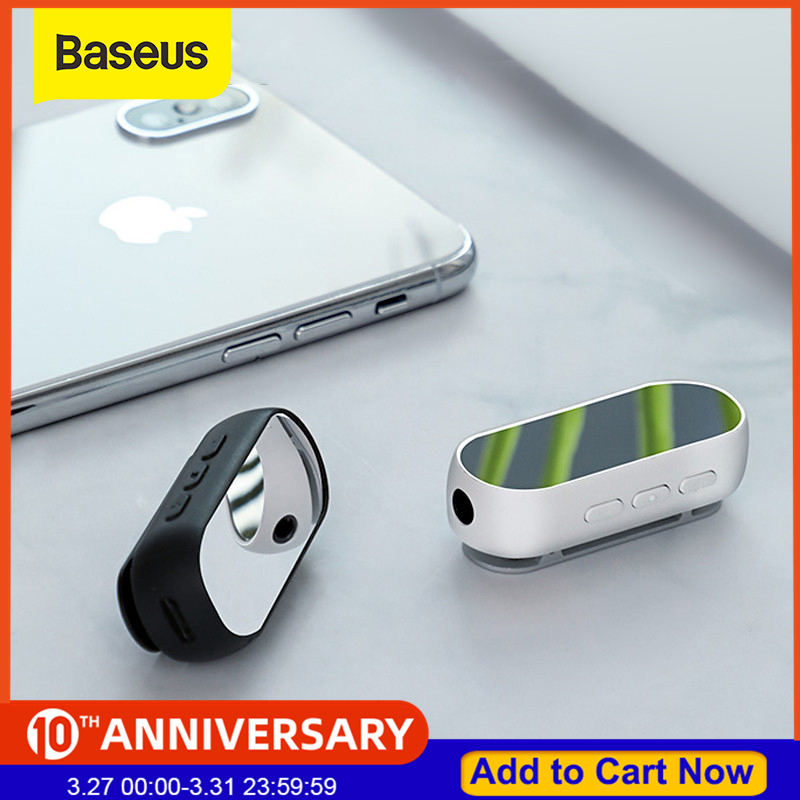 Baseus Bluetooth 5.0 Receiver Wireless Bluetooth Receiver Adapter For Headphone Speaker Music 3.5mm AUX Audio Receiver Adapter