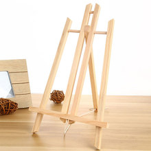 30 Cm Beech Wood Table Easel Painting Craft Wooden Vertical Painting Technique Special Shelf For Art Supplies