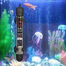YUGE-tige de chauffage de Thermostat réglable, 110v-220v, Submersible, pour Aquarium, poisson, 25W/50W/100W/ 200W, pour Aquarium, eau chaude