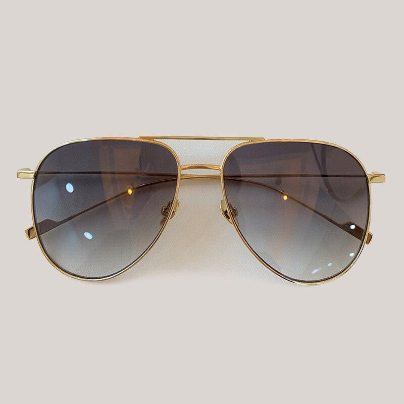 Luxury Polit Sunglasses Women/Men Brand Designer Metal Frame Ladies Sun Glasses UV400