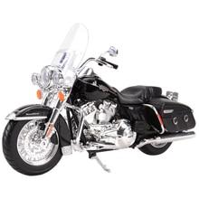 Maisto 1:12 2013 FLHRC Road King классические литые автомобили, коллекционные хобби модель мотоцикла, игрушки