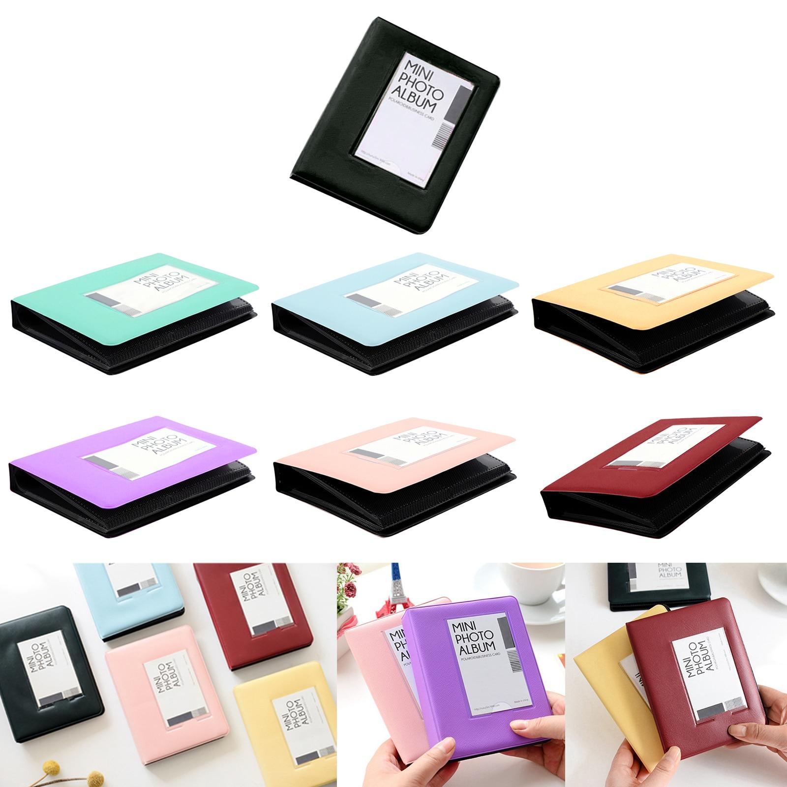 64 pochettes Album Photo livre 3 pouces Album fête de mariage Photos souvenirs de famille cadeaux pour Fujifilm Instax Mini 9 8 7S 90 70 50 25S
