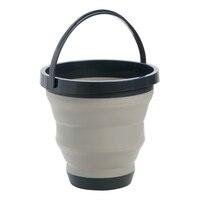 Portátil dobrável balde de silicone bacia viagem balde lavagem pesca acampamento balde lavagem carro espaço salvar para casa|Baldes|Casa e Jardim -