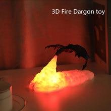 Lamps-Night-Light 3d-Printed-Toys Kids Children Sleep for Bedroom Office Desktop-Lamp