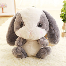 Plush Backpacks rabbit Cute Backpack Girls Children Backpack cartoon Bunny Stuffed Toy Children School Bag Gift Kids Little Girl цена 2017