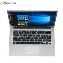 Student Laptop 14.1 Inch 4GB RAM 64GB ROM IPS Laptop Windows 10 Intel E8000 Quad Core Notebook with BT Webcam