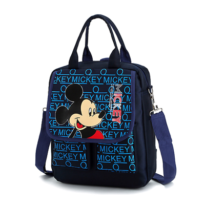2019 New Cartoon Mickey Handbag Children Shoulder Crossbody Bag Kids Storage Schoolbag Multi-function Bookbag Tote