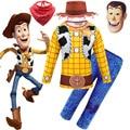 Woody/костюмы на Хэллоуин для мальчиков; Карнавальные комплекты одежды; Детские вечерние костюмы; Одежда для маленьких мальчиков