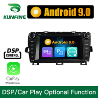 Android 9.0 Octa Core 4GB RAM 64GB Rom Car DVD GPS Multimedia Player Car Stereo for Toyota PRIUS 2009 2014 Left Radio WIFI