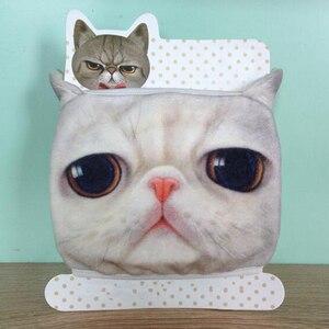 Image 2 - 1PCS כותנה Dustproof פה פנים מסכת 3D בעלי החיים חתול נשים גברים מופל פנים פה מסכות נשים אופנה פנים מסכות