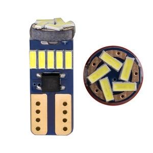 Image 2 - 600PCS T10 W5W Canbusหลอดไฟ194 LED 4014 SMD 15หลอดไฟLEDสีขาวข้อผิดพลาดฟรีรถอัตโนมัติWedgeภายในแสงโดม12V