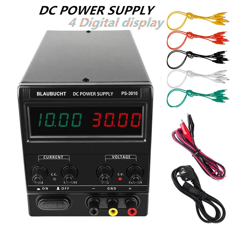 4 digits laboratory power supply 30V 10A 60V 5A Switching Regulated Adjustable DC Power Supplies 0.01V 0.001A 120V 3A 110v-220v