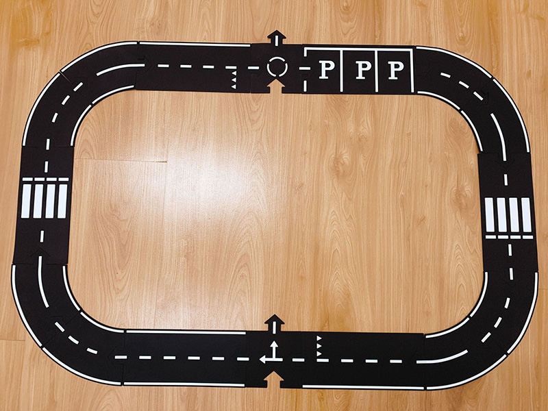 He8bd820a30c6473d8154075ff9dcccbbW DIY PVC Puzzles Track Play Set Road Car Track Baby Puzzle Game Mat Floor Carpet Educational Learning Toys Nordic Kids Room Decor