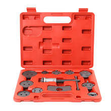 12pcs Universal Piston Car Pump Brake Precision Disc Brake Auto Caliper Wind Back Tool Kit Brake Pad Brake Car Repair Tool Kit(China)