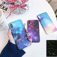 NORTHFIRE Luminous Starshine Case for Xiaomi Play 5 6 8 8SE 9 9SE Hard PC Phone Case for Redmi Note 5 6 7 4X 6A Back Cover candy color phone case for xiaomi 8 8lite 9 9se fundas for xiaomi redmik20 k20pro case redmi4a 4x 6 6a 7 7a redmi note5 6 7 case