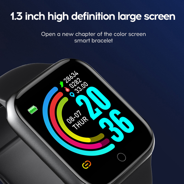 2020 Smart Watches Men Women Bluetooth Smartwatch Blood Pressure Heart Rate Monitor Sports Fitness Bracelet For Apple Android 2