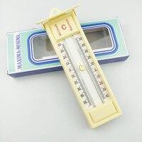 방수 최대 최소 온도계-40 ~ 50도 녹음 수은 온도 모니터 실내 정원 온실 도구