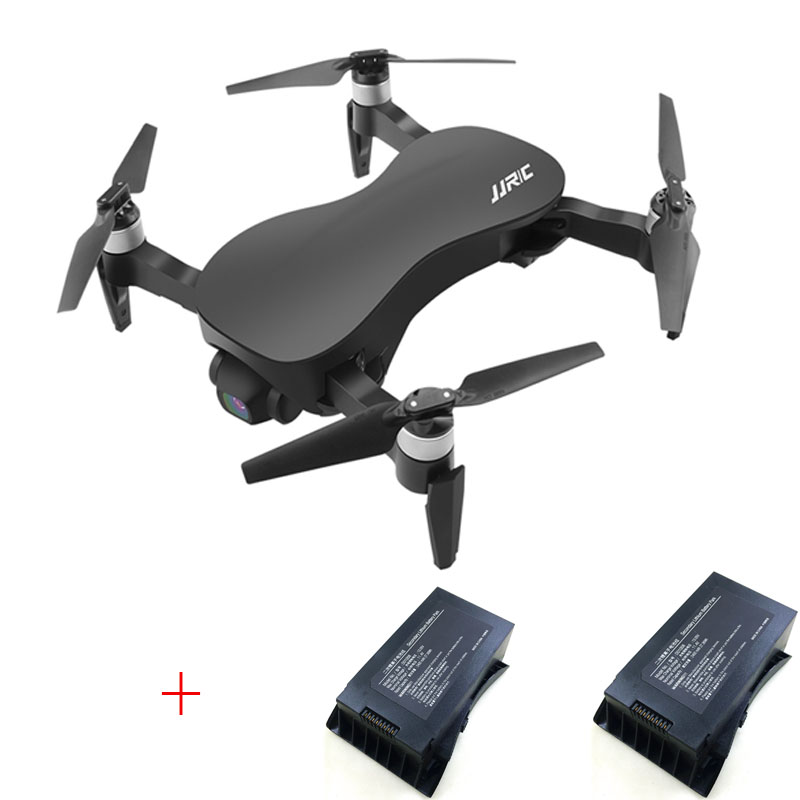 (With two batteries ) JJRC X12 Drone GPS 5G WiFi FPV Brushless Motor 4K HD Camera 3-Axis Gimbal RC Drone Quadcopter RTF