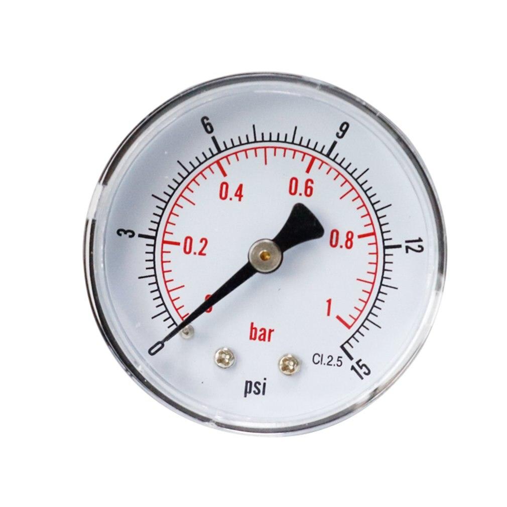 Y50 Axial Pressure Gauge High Quality Barometer Oil Pressure Gauge Water Pressure Gauge Precision Pressure Gauge