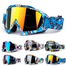 Helmets Motocross-Goggles Moto-Eyewear Ski-Glasses Dirt-Bike Off-Road Outdoor Windproof
