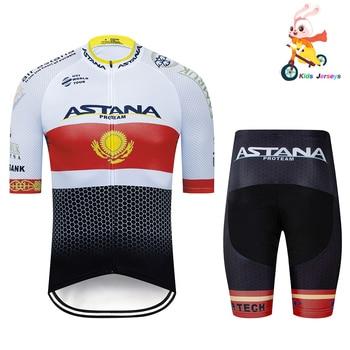 Camisetas de Ciclismo 2020 Pro equipo ASTANO chico Ropa Ciclismo Verano de...
