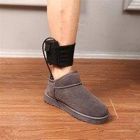 Warme Elektrische Pads Winter Fuß Wärmer Tragbare USB Aufladbare Schuhe Boot Heizung Heizung Einlegesohlen