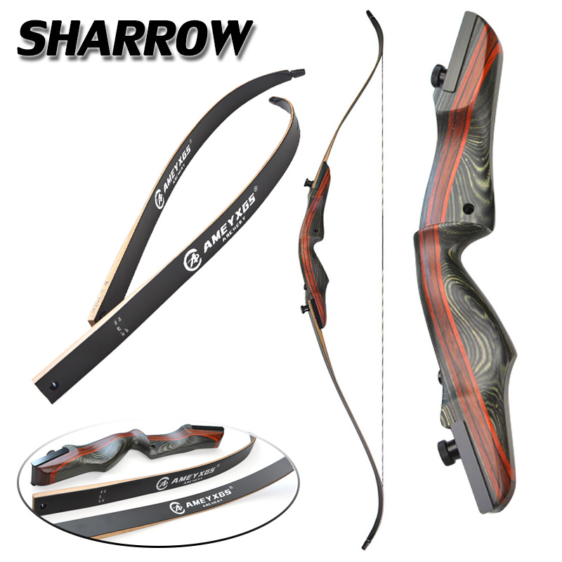 1set Hunting 62inch Recurve Bow 25 50lbs Draw Weight Composite Material Recurve Bow Shooting Archery Bow And Arrow Accessories-in Bow & Arrow from Sports & Entertainment    1