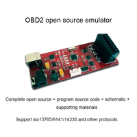 OBD Simulator/ECU Simulator/Vehicle Networking Development/OBD Test Development/Providing Upper and Lower Computer Source Code