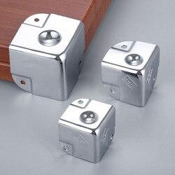 1Pc metalowa lotnictwa narożne wsporniki zestaw narzędzi bagażnik Box przypadku kąt ochraniacz ze stelażem obejmuje okucia do mebli/35/40/ 50mm