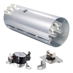Dryer Replacement Parts 134792700 Dryer Heating Element, 137032600 Heat Limiter and 3204267 Thermostat
