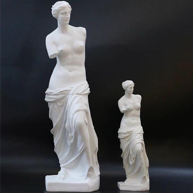 Nordic Broken Arm Venus Abstract Resin Figurine Antique Home Decor Sculpture Decoration Craft Greek Statue European Ornament 1