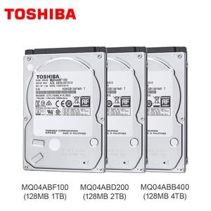 TOSHIBA 1TB 2T 4TB Internal Hard Drive Disk 2.5'' 128M HDD Laptop Cache 7mm 9.5mm 15mm SATA3 MQ04ABF100 MQ04ABD200 MQ04ABB400