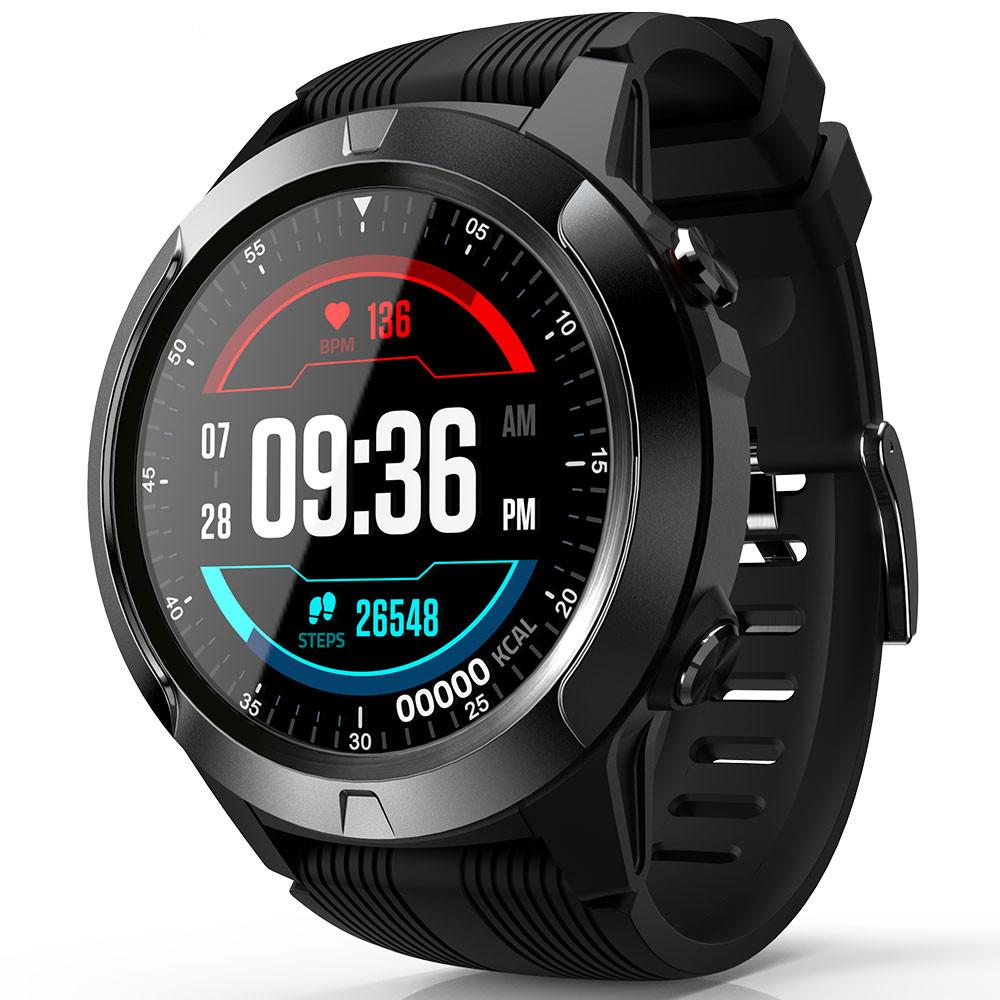 He8bf94c64c1f4b92a1368f61bcb854ffP 2020 Built-in GPS Smart Watch GSM bluetooth Call Phone Air Pressure Heart Rate Blood Pressure Weather Monitor Sport Smartwatch