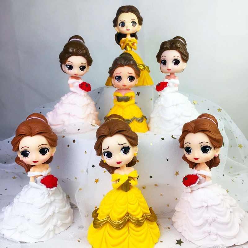Decorazioni Per Torte Ornamenti Abito Da Sposa Principessa Disney Bella Decorazione Romantica Per Matrimoni Decorazione Per Torta Di Compleanno Per Bambini Aliexpress