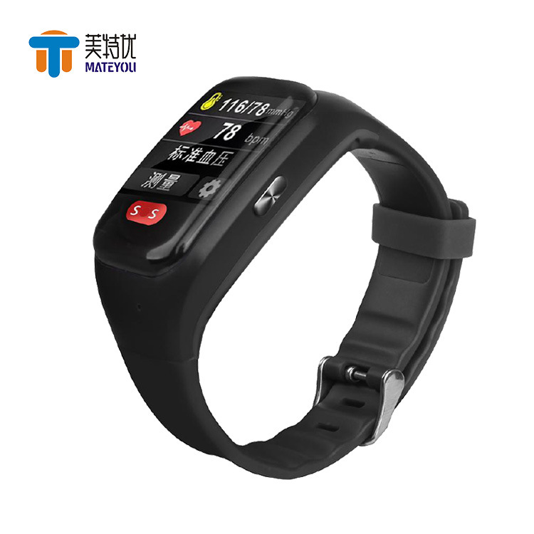 T3 Health Management Bracelet Emergency SOS/GPS BeiDou Positioning Wif Base Station Positioning Call Smart Watch