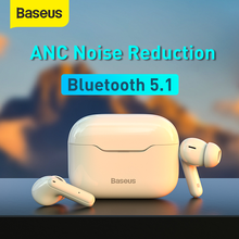 Baseus-Bluetooth 5.1ワイヤレスヘッドセット,hi-fiヘッドセット,アクティブノイズキャンセル,ゲーミングヘッドセット