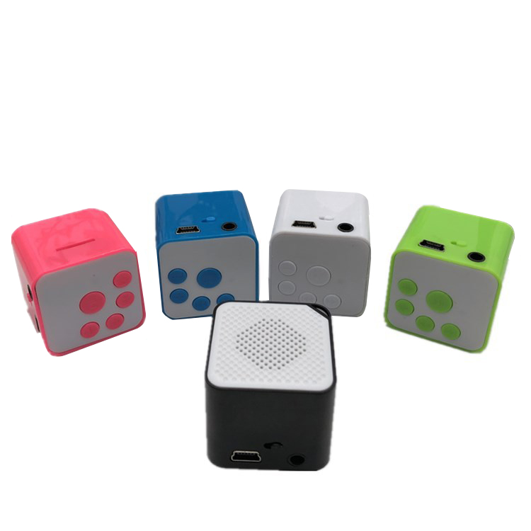 Portable Mini MP3 Music Player Support 16G TF Card Brand New Speaker Campaign MP3 Music Player Built-in Speaker
