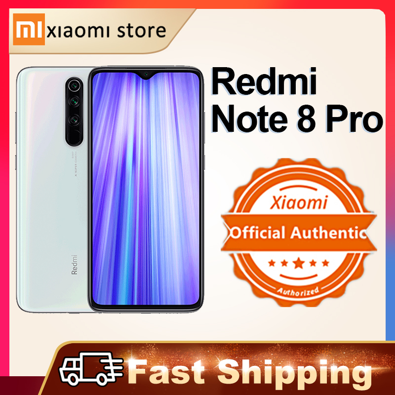 Xiaomi Redmi Примечание 8 Pro 6 ГБ 128 телефон Глобальная версия Xiaomi смартфон NFC 64-мегапиксельная четырехъядерная камера Helio G90T 4500 ма-ч