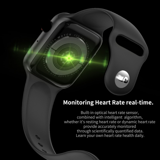 Cobrafly IWO 10 Smart Watch 1.54 inch Screen Bluetooth Call Dial Answer ECG Heart Rate Monitor PK IWO 8 Smartwatch for Men Women