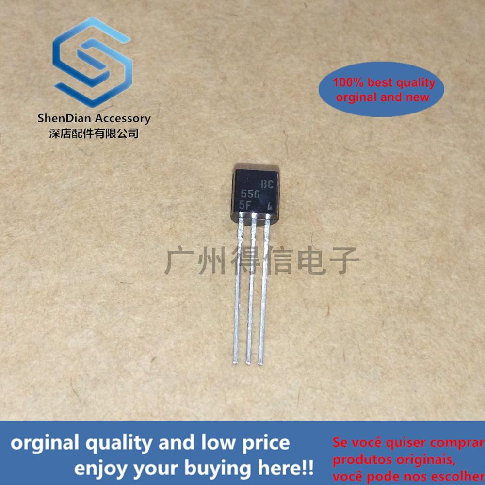 30pcs 100% Orginal New BC556A BC556 556 TO-92 PNP General Purpose Transistors Real Photo