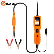 KZYEE KM10 Tester obwodów samochodowych Powerscan obwód zasilania sonda skaner samochodowy narzędzie diagnostyczne do samochodów instalacja elektryczna Tester